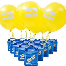 Supply Loot Drop Box Party Favors – 24-Pack. Great as Decoration and Gift Bags