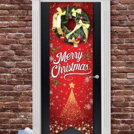 Merry Christmas Door Banner