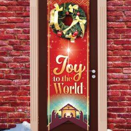 Joy To The World Door Banner